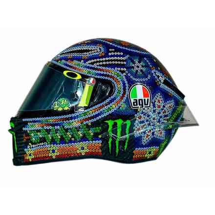 Casco Pista Gp R Top Rossi Winter Test 2018 Agv