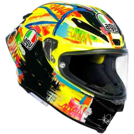 Casco Pista Gp R Top Rossi Winter Test 2019 Agv