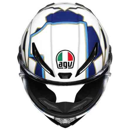 Casco Pista Gp Rr Agv Ece-Dot World Title 2003 Limited Edition Agv