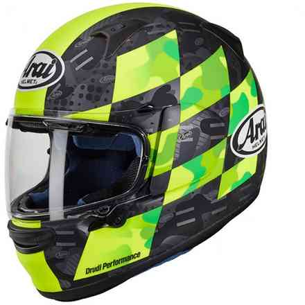 Casco Profile-V Patch giallo fluo Arai