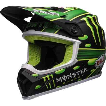 Casco Ps Mx-9 Mips Monster Showtime  Bell