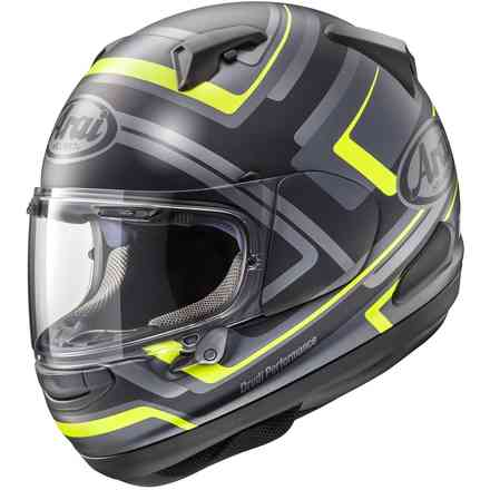 Casco Qv-Pro Charged GIallo Arai