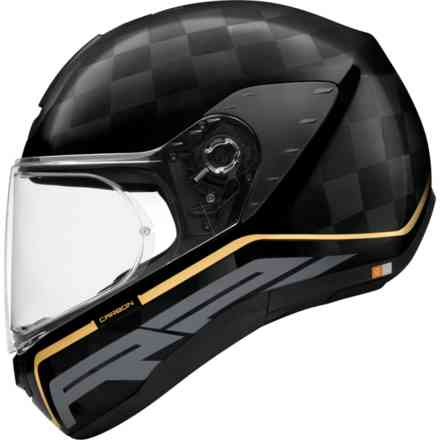 Casco R2 Carbon Stroke Oro Schuberth