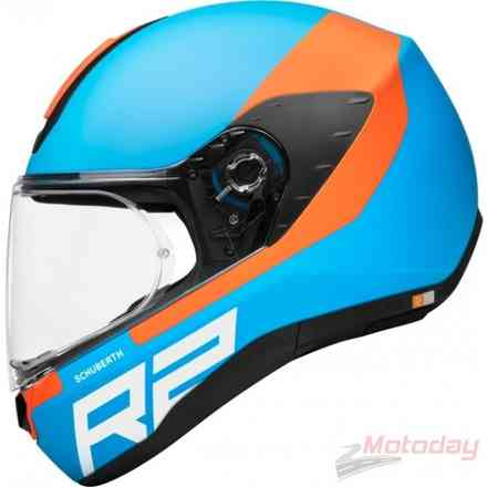 Casco R2 Wing Blu Schuberth