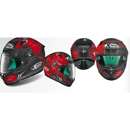 Casco Replica X-802RR Ultra Carbon C.Checa X-lite
