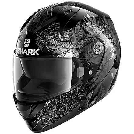 Casco Ridill 1.2 Nelum nero argento antracite Shark
