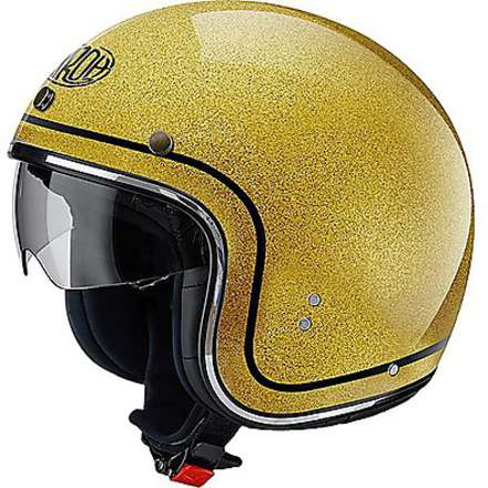 Casco Riot Color gold glitter Airoh