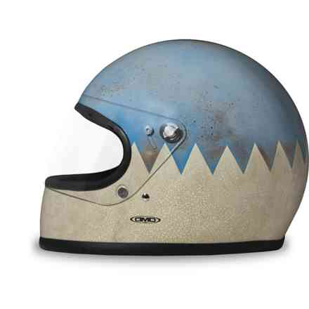 Casco Rocket Artic fatto a mano DMD