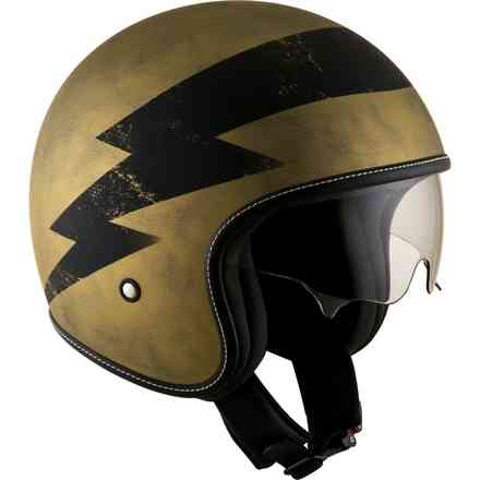 Casco Rokk Magnet Marrone Opaco Suomy
