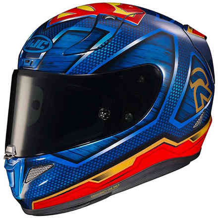 Casco Rpha 11 Superman Dc Comics HJC