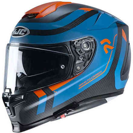 Casco Rpha 70 Carbon Reple Blu Opaco HJC