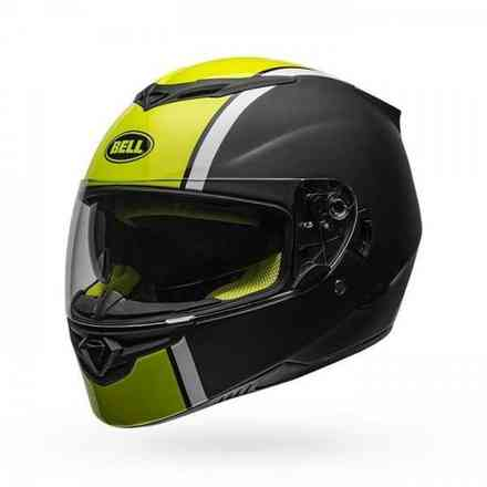 Casco Rs-2 Rally Black/White/Hiviz Bell