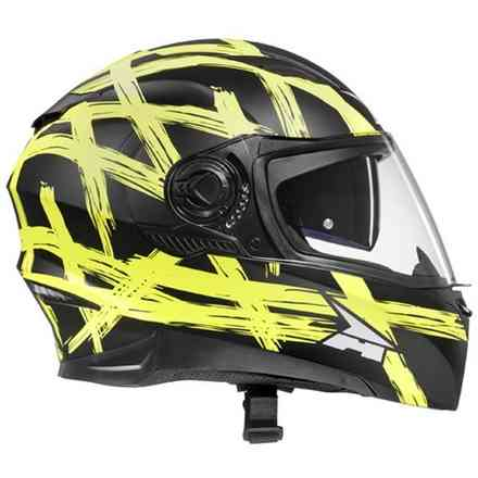 Casco RS01 Con Pinlock Yellow/Black Axo