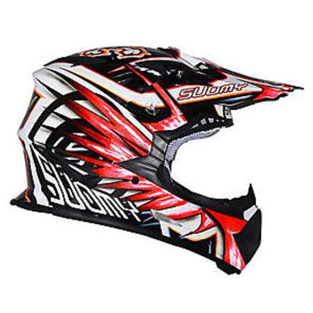 Casco Rumble Eclipse Red Suomy