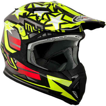 Casco Rumble Freedom Giallo Suomy