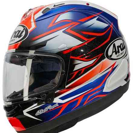 Casco Rx-7 V Ghost Blu Arai