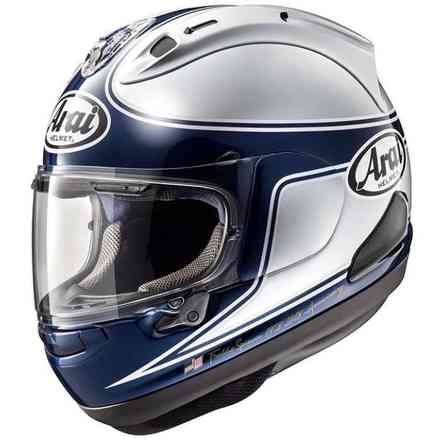 Casco Rx-7V Spencer 40th Argento Arai