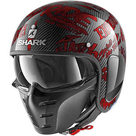 Casco S-Drak Freestyle Cup Rosso Shark
