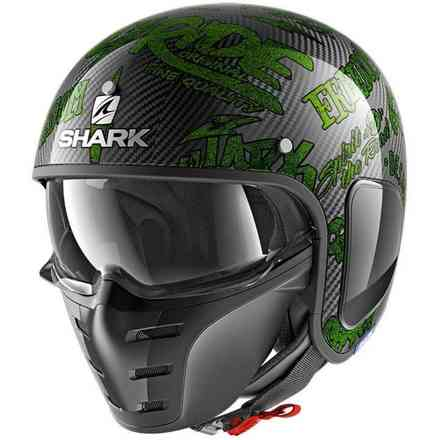 Casco S-Drak Freestyle Cup Verde Shark