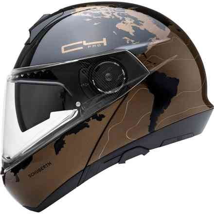 Casco Schuberth C4 Pro Magnitudo Marrone Schuberth