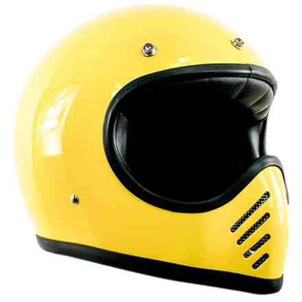 Casco Seventy Five giallo DMD