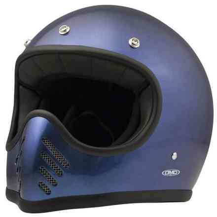 Casco Seventy Five Metallic Blu DMD