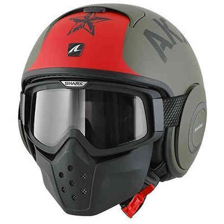 Casco Shark Drak Soyouz Mat Shark