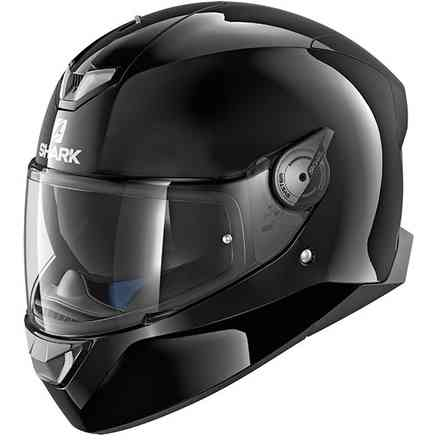 Casco Skwal 2 Blank Led Nero Shark