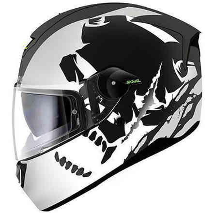 Casco skwal Instinct Mat Shark