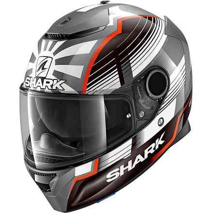 Casco Spartan 1.2 Replica Zarco Shark