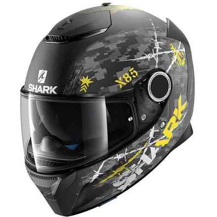 Casco Spartan Rughed Shark