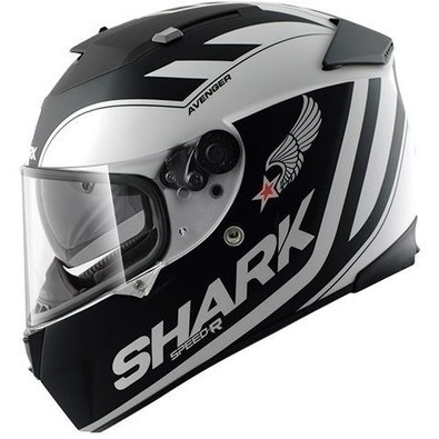 Casco Speed-R Avenger Matt Shark