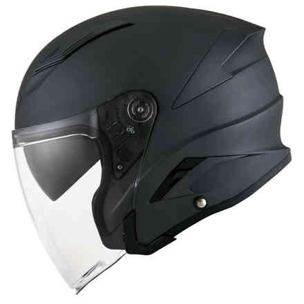 Casco Speedjet Plain Antracite Opaco Suomy