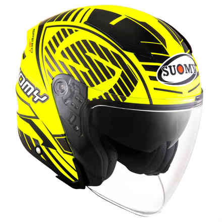 Casco Speedjet Sp-2 Giallo Fluo Suomy