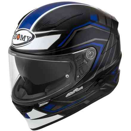 Casco Speedstar Glow Blu-Nero Suomy