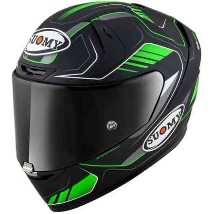 Casco Sr-Gp Gamma Matt Verde Suomy