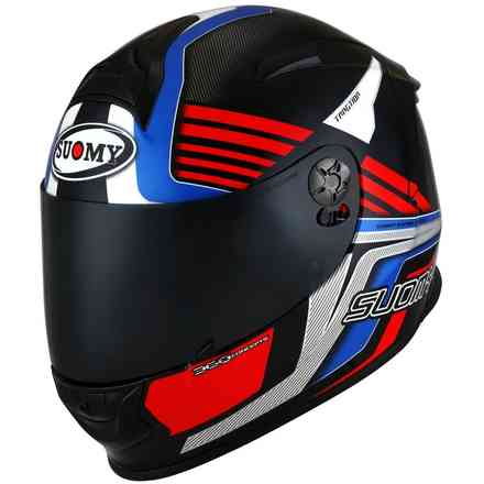 Casco Sr-Sport Attraction Blu/Rosso Suomy