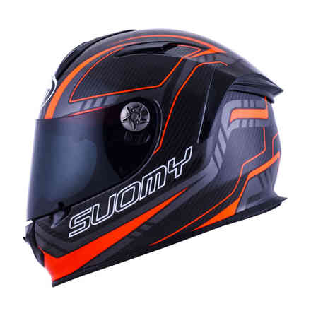 Casco Sr Sport Carbon Red Suomy