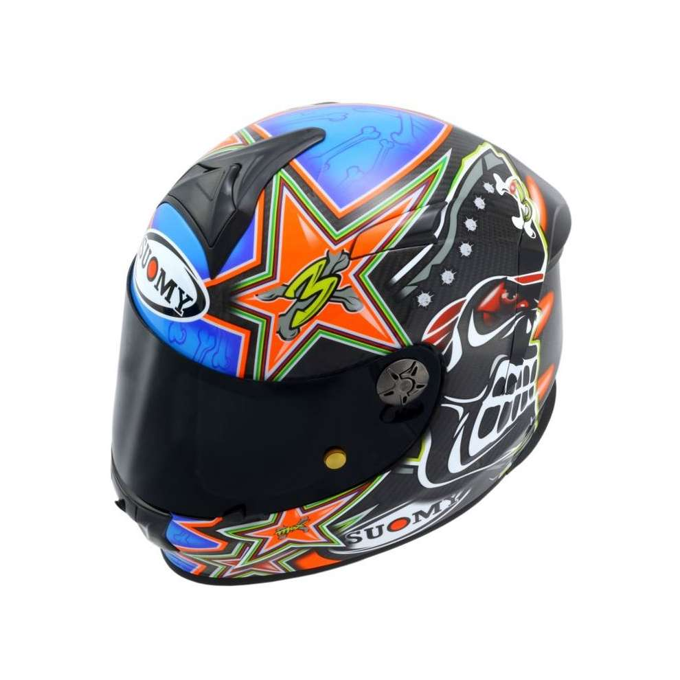 Casco SR Sport Carbon Replica Biaggi Suomy