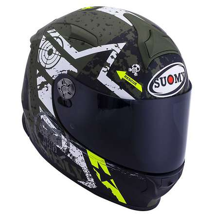 Casco SR Sport Stars Military Suomy