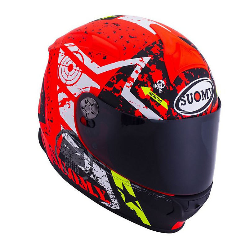 Casco SR Sport Stars Orange Suomy