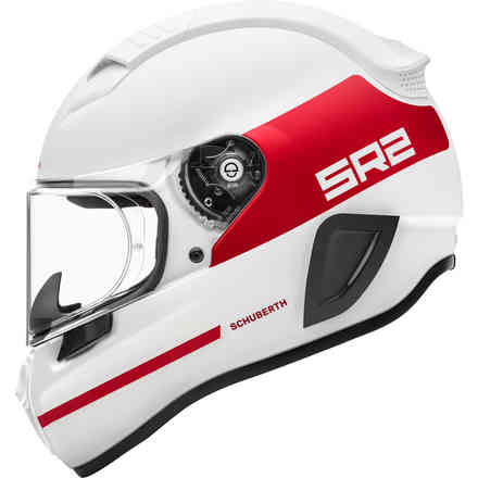 Casco Sr2 Ece Horizon Red Schuberth