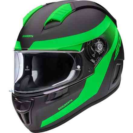 Casco Sr2 Resonance verde Schuberth