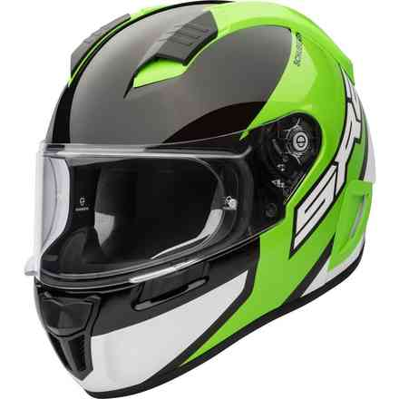 Casco Sr2 Wildcard verde Schuberth