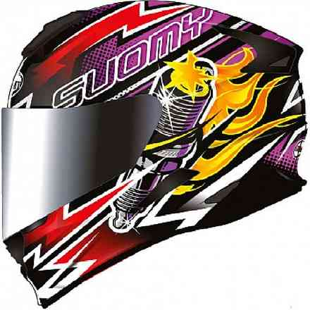 Casco Stellar Boost Fuxia Suomy