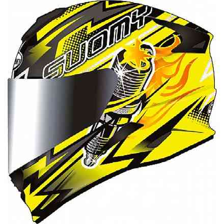 Casco Stellar Boost Giallo Suomy