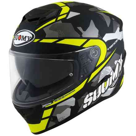 Casco Stellar Race Squad Matt Giallo Suomy