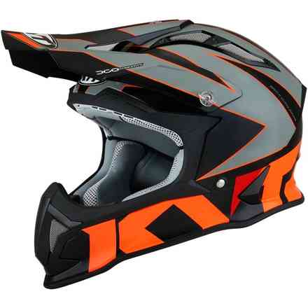 Casco Strike Eagle Blinking KYT