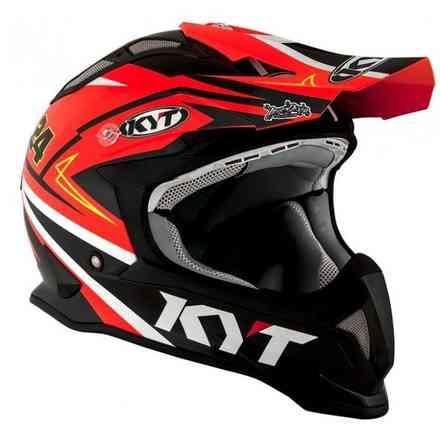 Casco Strike Eagle Simpson Replica Arancione KYT
