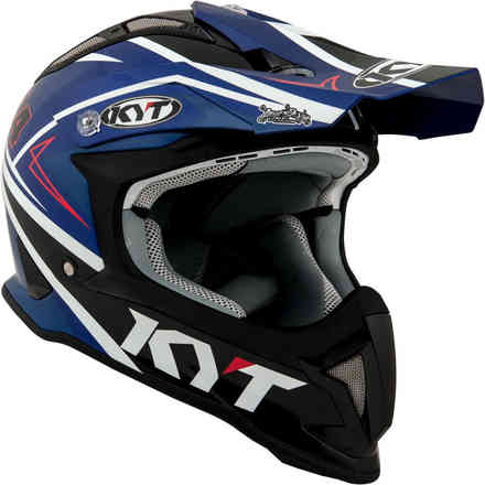 Casco Strike Eagle Simpson Replica Blu KYT